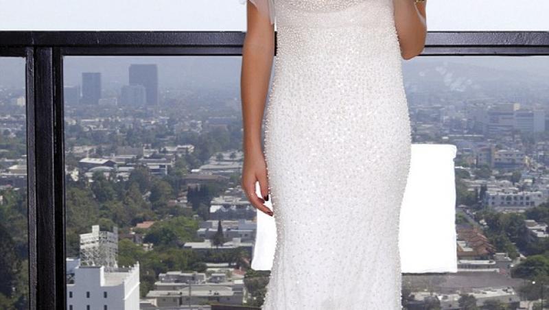 FOTO!  Kristin Cavallari, in rochia de mireasa blestemata
