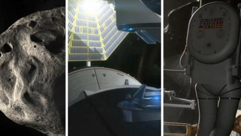 NASA vrea sa trimita astronauti dincolo de sistemul solar cu o racheta asamblata in spatiu