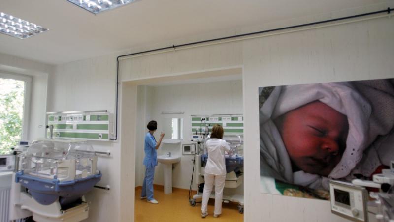 Bucuresti: Maternitatea si sectia de ginecologie de la Spitalul Municipal, inchise pentru igienizare
