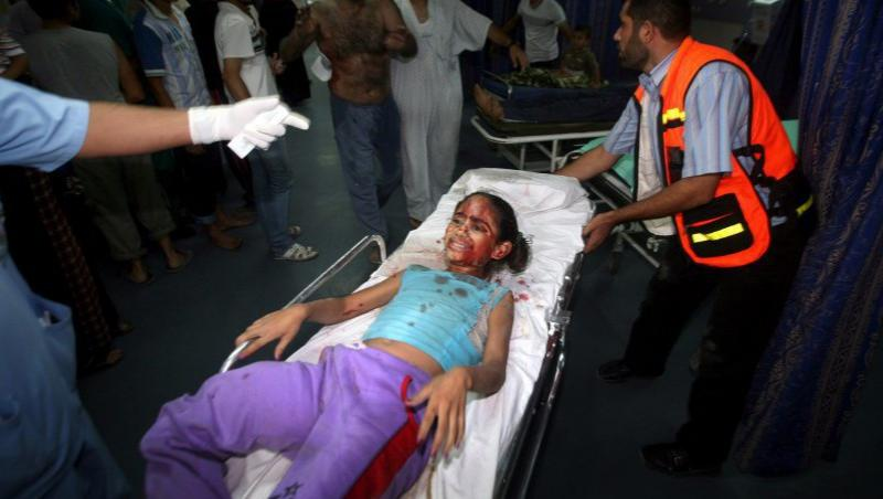 VIDEO! Val de atacuri in Israel si Gaza: Opt morti si 26 de raniti