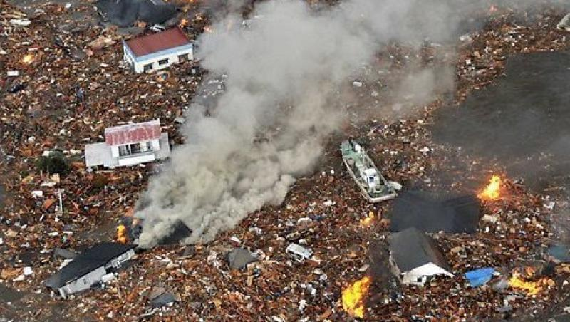Cutremur de 6,8 pe Richter in nord-estul Japoniei, alerta de tsunami a fost ridicata