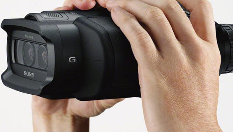 Sony Digital Recording - binoclul digital care filmeaza HD si 3D