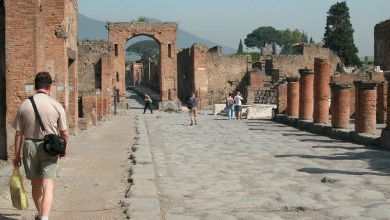FOTO! Pompei - orasul in care