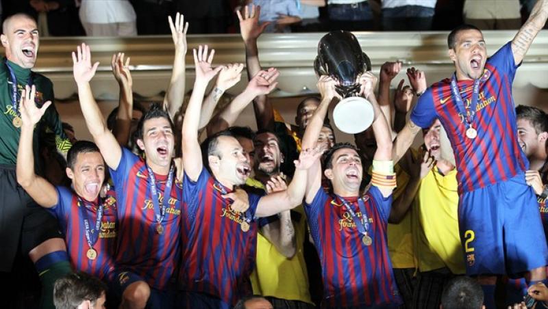 FC Barcelona a castigat Supercupa Europei