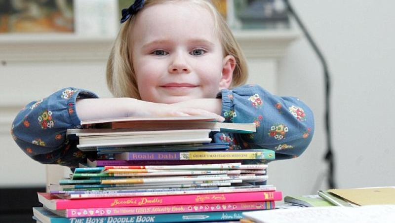 Geniu la 4 ani: O fetita are IQ-ul aproape cat Albert Einstein