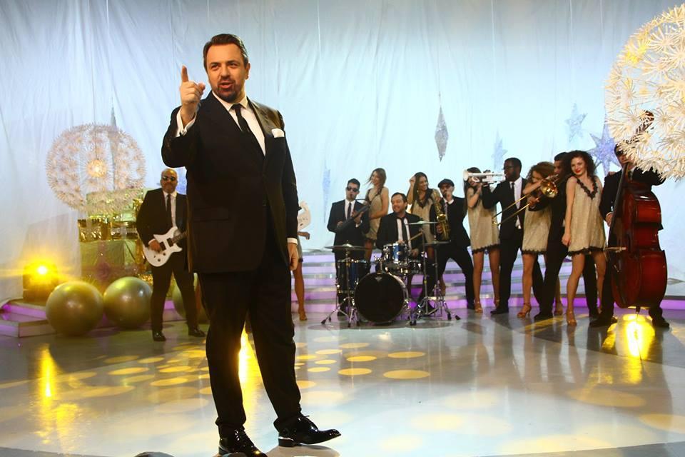 """1, 2, 3, show total la Uniplay! """"I wanna be a billionaire!"""", în interpretarea lui Brenciu, Theo Rose, George, Mihai Constantinescu, Gina Pistol și Doroftei"""