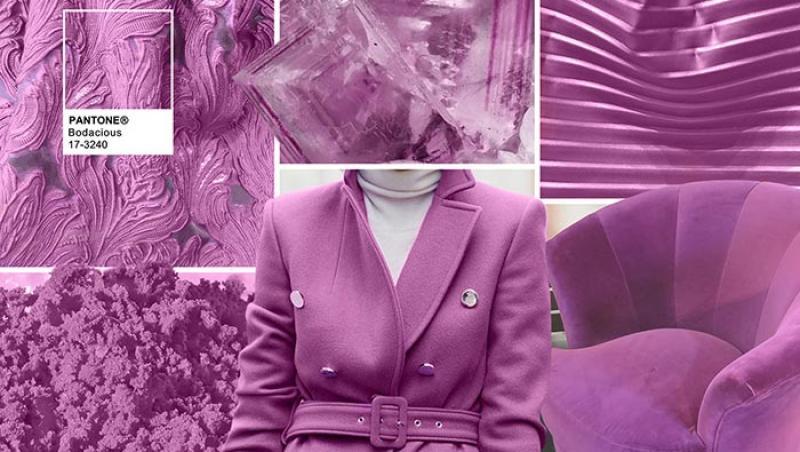 A fost aleasă Culoarea Anului 2018! Domnișoare de onoare, doamne cochete, Ultra Violetul va da tonul în noul an!