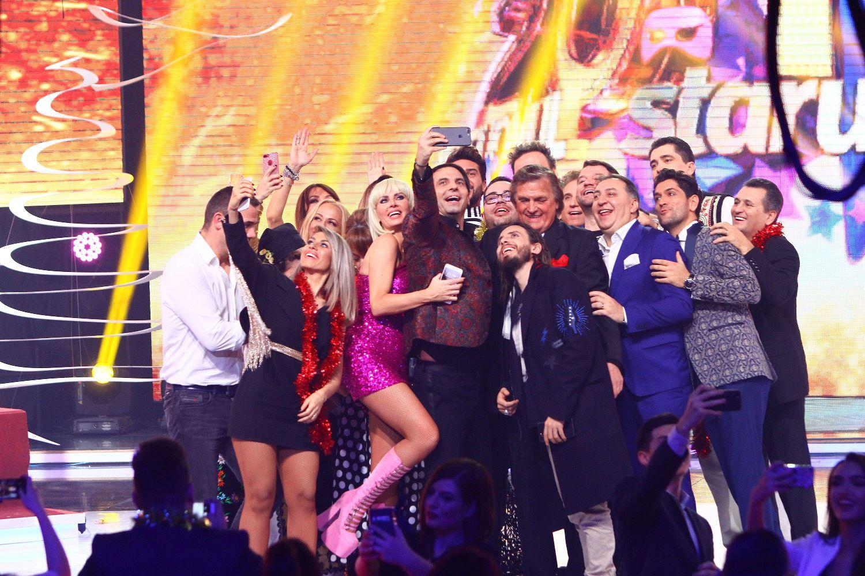 Dan Negru, de 18 ani liderul incontestabil al spectacolelor de Revelion! Peste 3.200.000 de români au urmărit Revelionul Starurilor 2018, la Antena 1