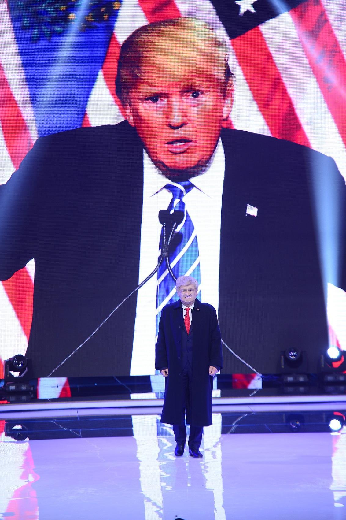 Donald Trump de România e vedetă în lume! Nea Mãrin a ajuns în presa internațională