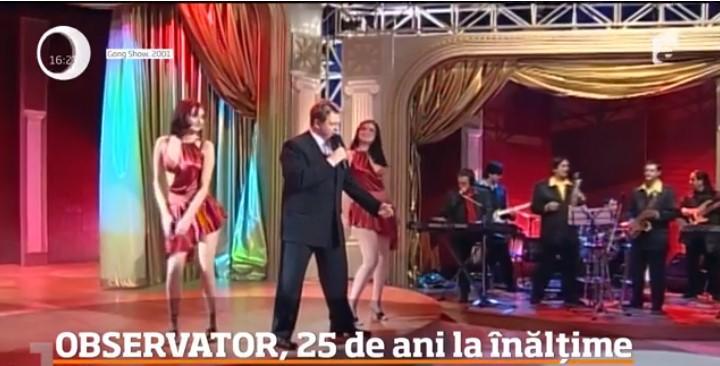 """25 de ani de Antena 1. Horia Brenciu, imagini de colecție! """"Și lacrimile fac parte din spectacol!"""" - VIDEO"""