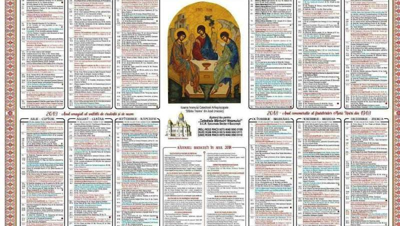 calendar ortodox 5 decembrie