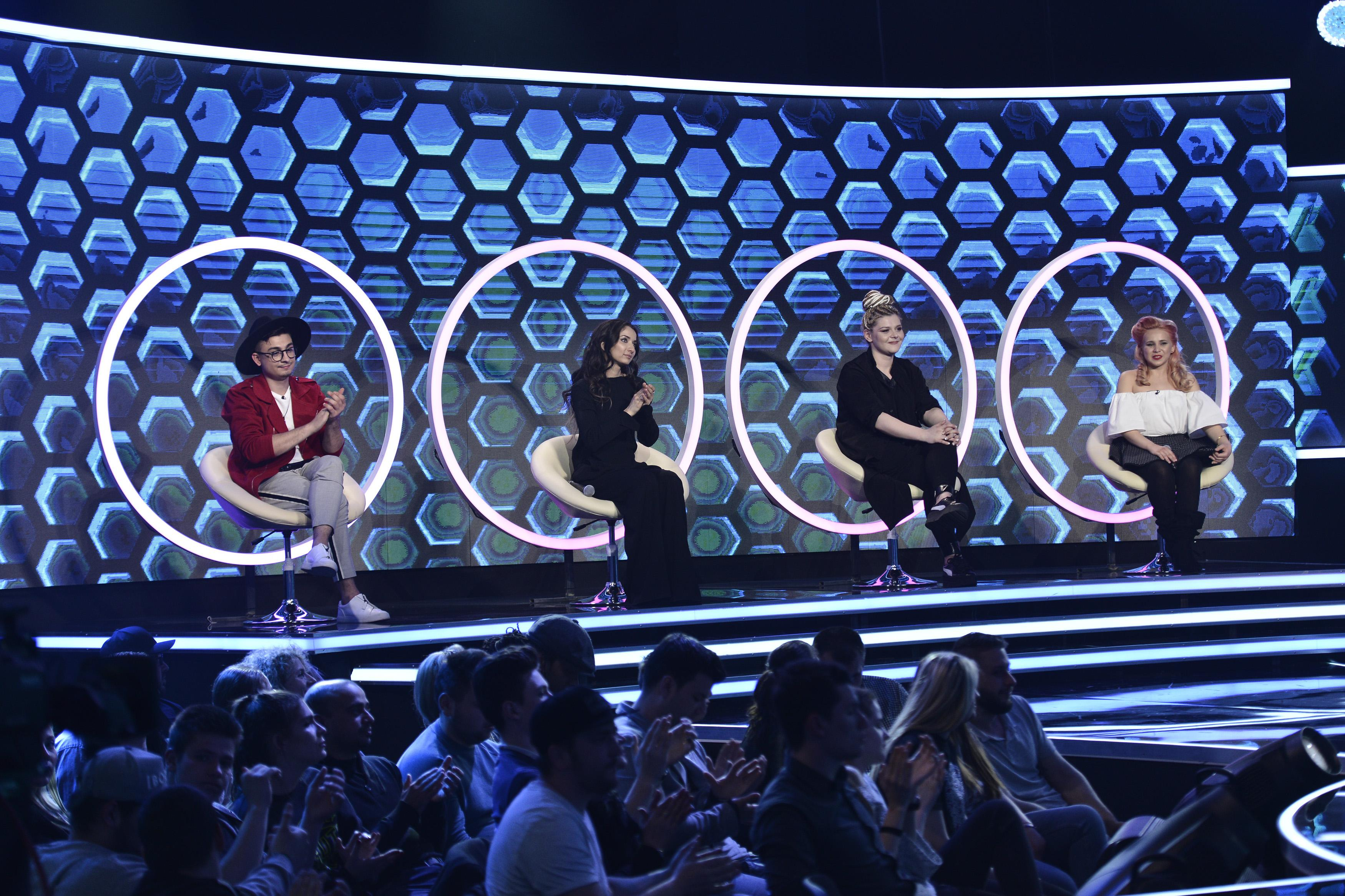 """""""Veteranul"""" Dragoș Udilă și Francesca Ilie și-au pierdut scaunele la """"The Four – Cei 4"""""""