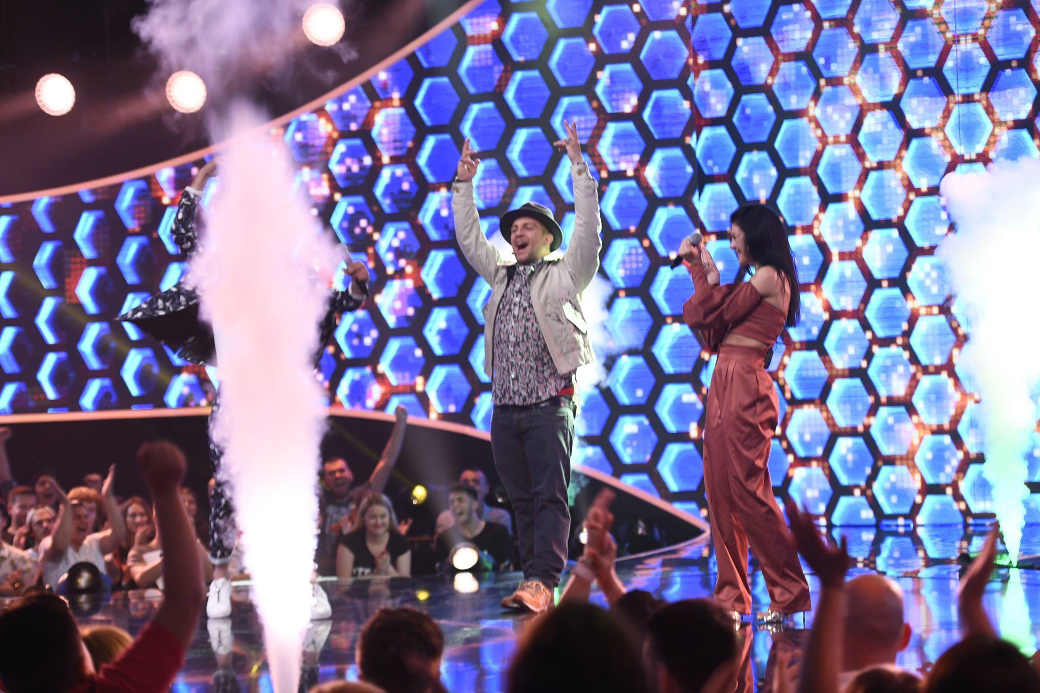 """Vlad Musta versus Anastasia Sandu, luptă crâncenă pentru marele premiu de la """"The Four""""! El este primul finalist al show-ului"""