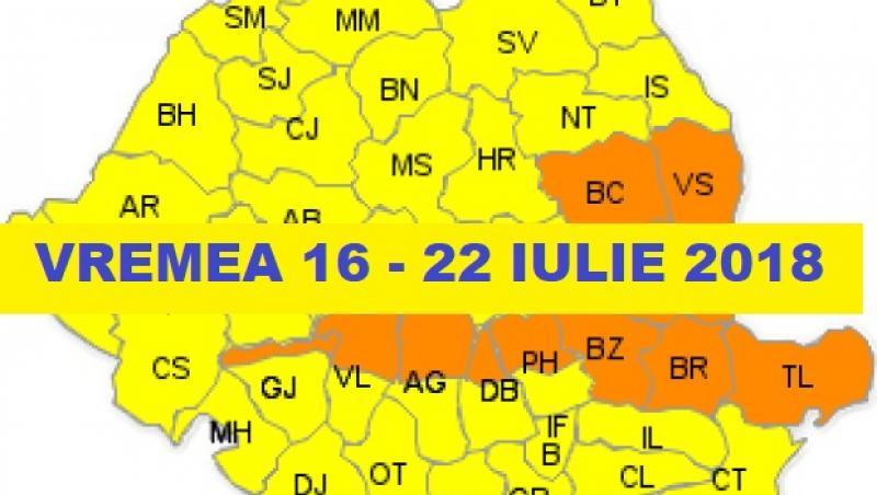 Vremea 19 iulie. Prognoza meteo anunță furtuni masive și inundații
