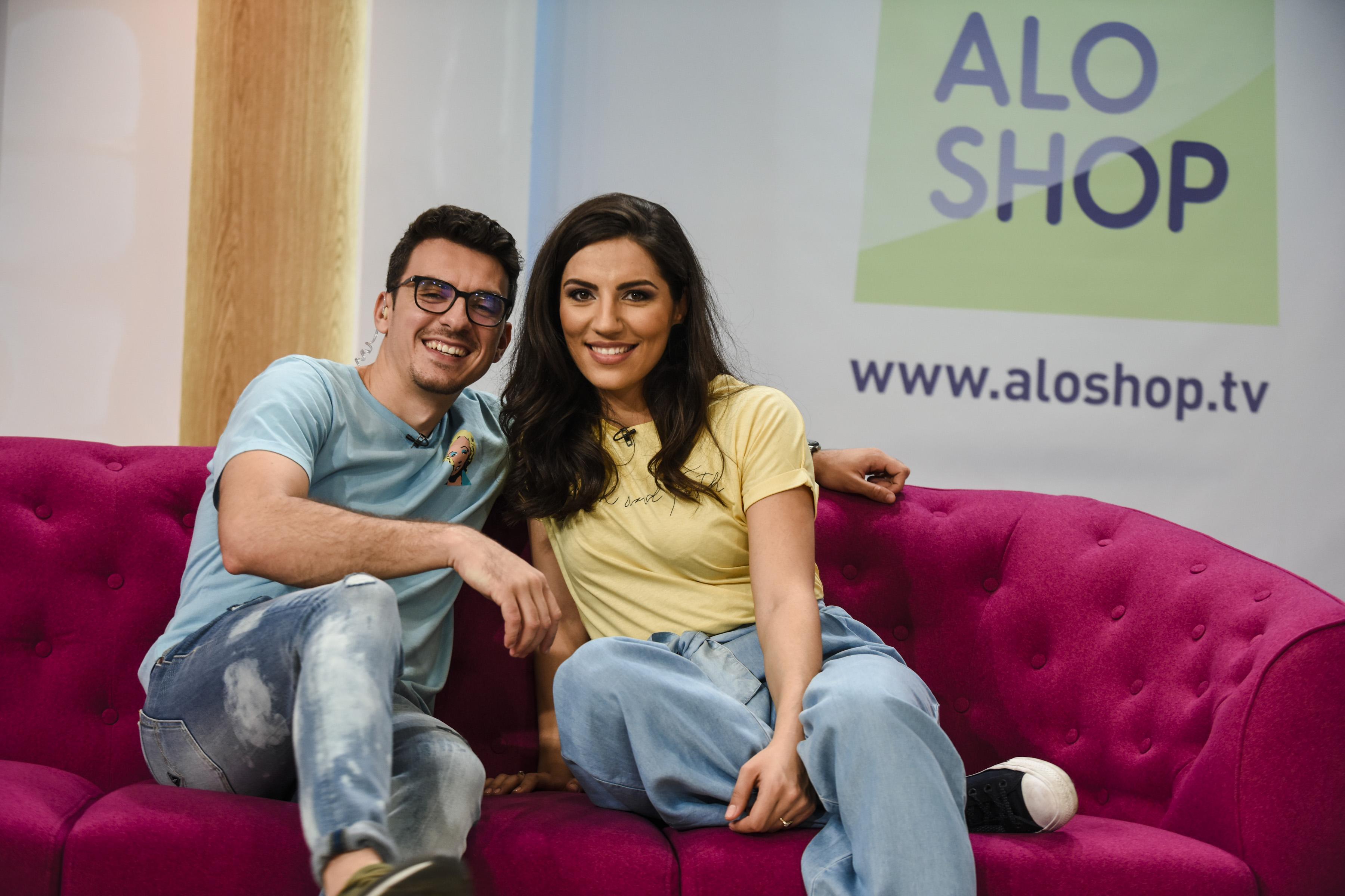 """""""Vreau azi de la Alo Shop"""", cea mai tare emisiune a momentului! Actorii Alexandru Ion și Adelaida Perjoiu fac show la Antena Stars!"""
