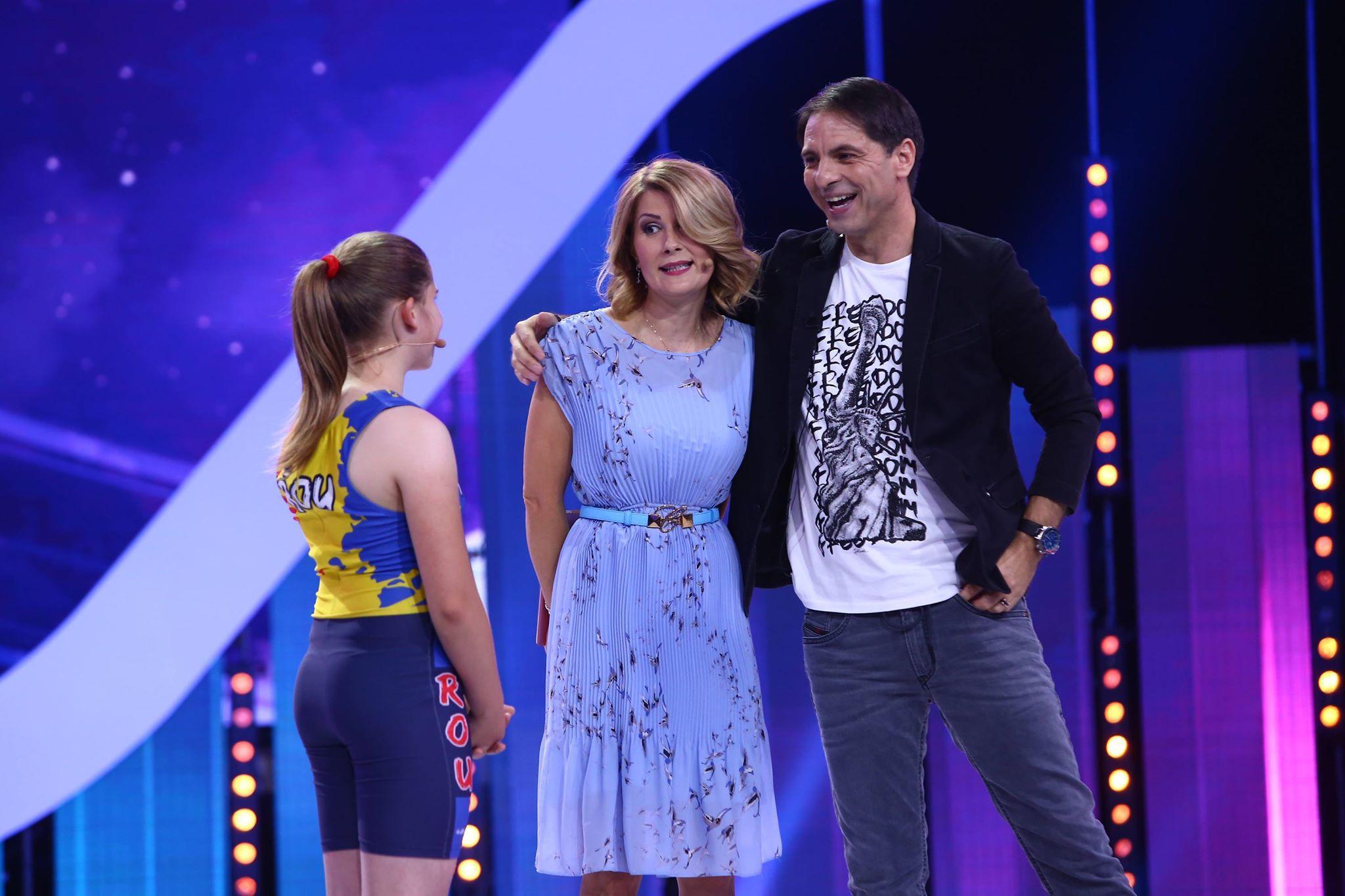 """Surpriză de proporții pentru Ana Maria Rață, campioană națională la haltere, la doar 11 ani! Alessandra Stoicescu: """"Să nu uiți că ești un copil special!"""""""