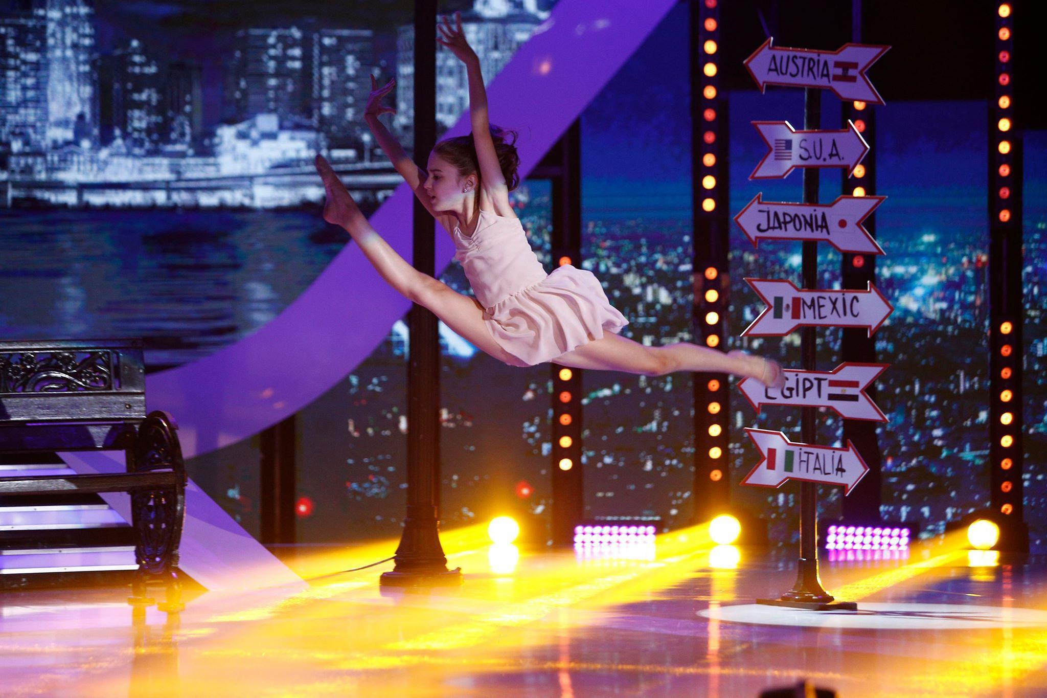 """Dansul, dansul e normal la vârsta ei. Emma Lixandru, un talent înnăscut, care poate deveni un """"next star""""!"""