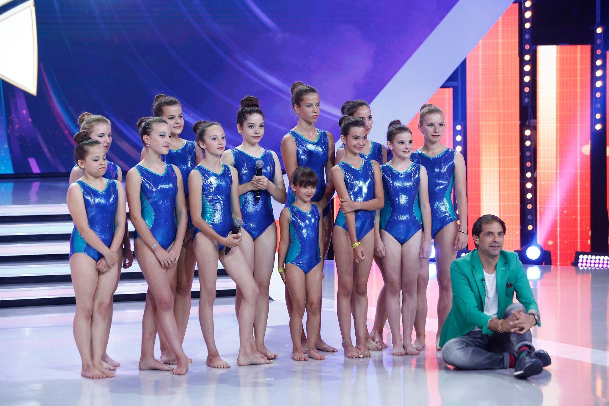 Premieră la Next Star. Primul moment de înot sincron la cel mai tare talent-show din România!