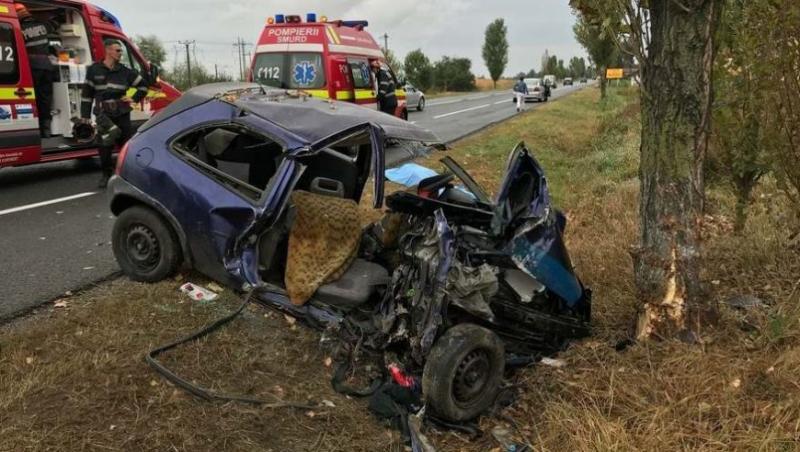 Duminică neagră! Tragedie după tragedie, pe ACELAȘI drum! Două persoane au murit și o a treia este rănită!