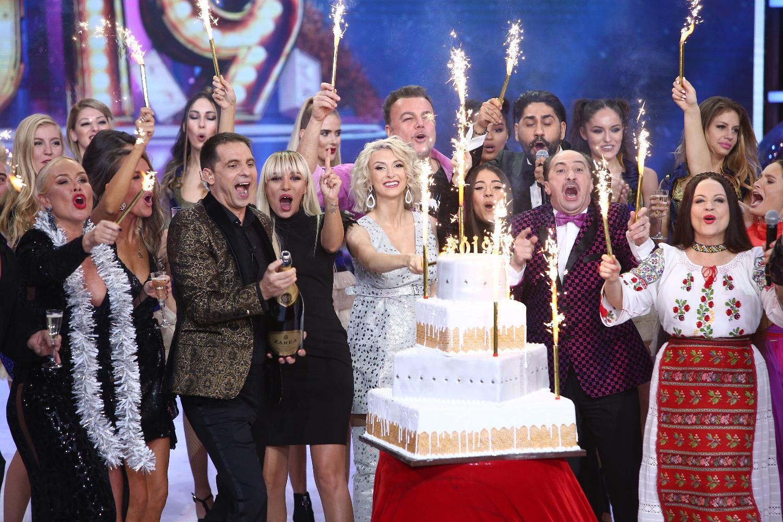 Dan Negru, de 19 ani liderul spectacolelor de Revelion! Peste 3.700.000 de români au urmărit Revelionul Starurilor 2019, la Antena 1