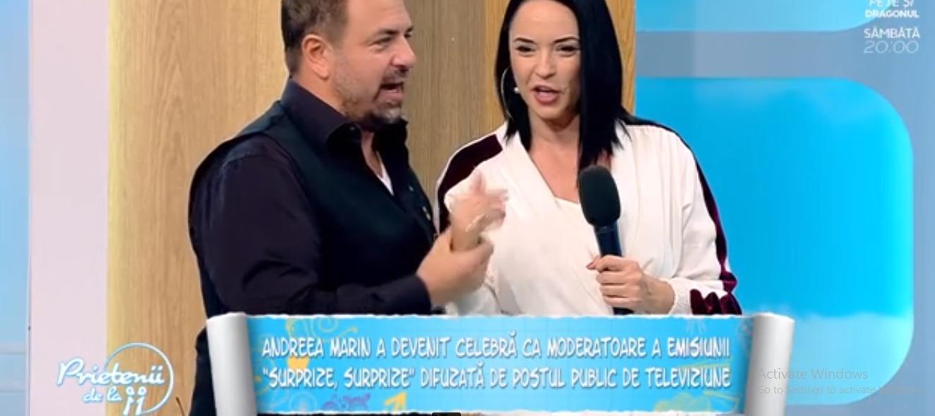 """Ce îi leagă pe Horia Brenciu și Andreea Marin: """"...Atunci, eu m-am îndrăgostit de Andreea!"""""""