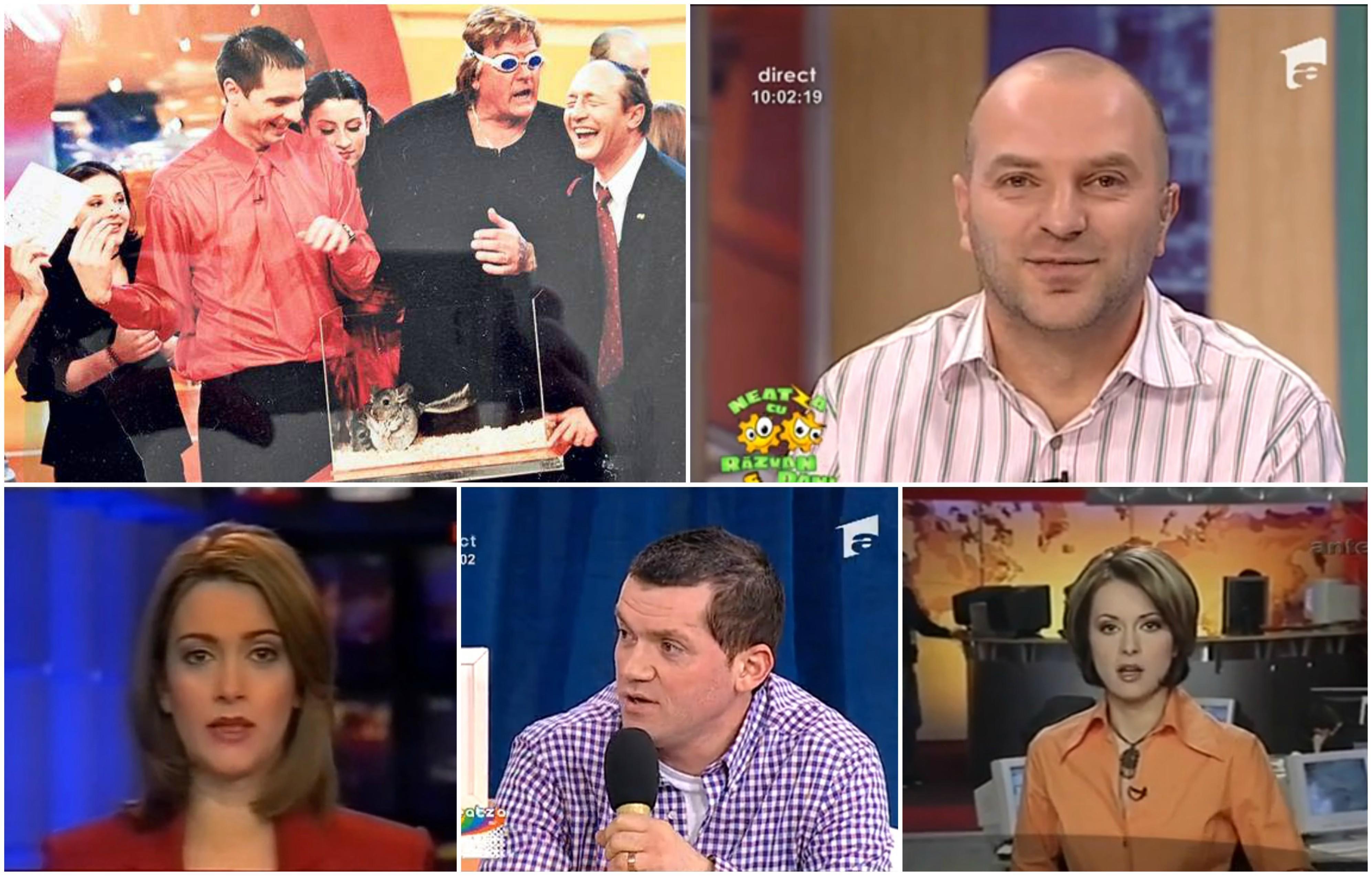 Antena 1, 26 de ani! Oho, ce a trecut timpul! Top opt transformări ale unora dintre cele mai iubite vedete! Dan Negru și Dan Capatos au îmbătrânit ca vinul! Andreea Berecleanu și Bordea, de nerecunoscut!