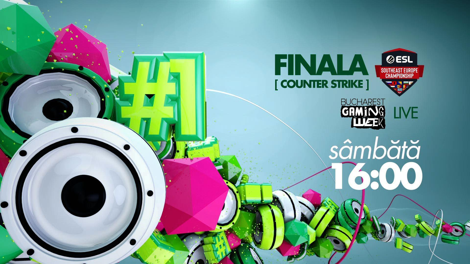 ZU TV transmite live finala ESL Southeast Europe Championship la Counter Strike