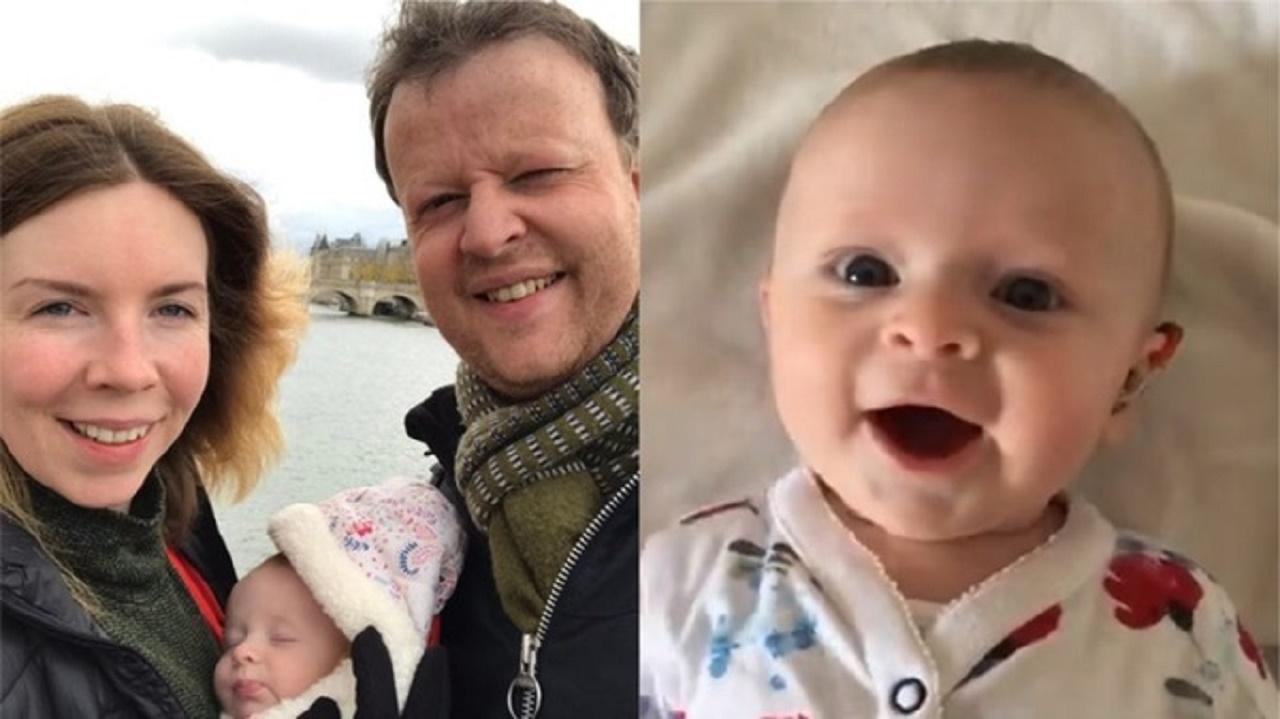 Te topești instant! Ce a făcut un bebeluș surd când a auzit vocea mamei, pentru prima dată   VIDEO