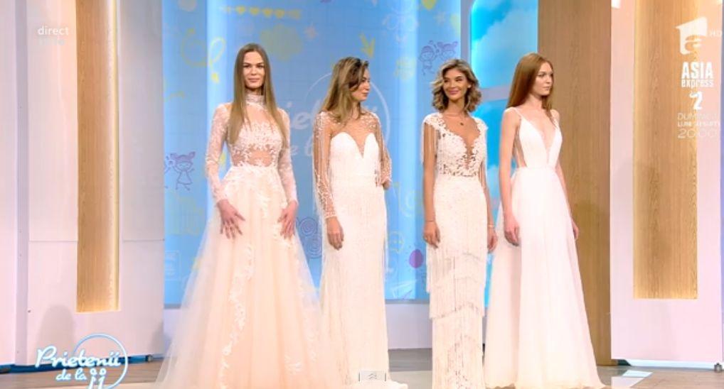 Stil de succes, cu Ellida Toma. Ce rochii pot alege miresele care vor să iasă din tipare