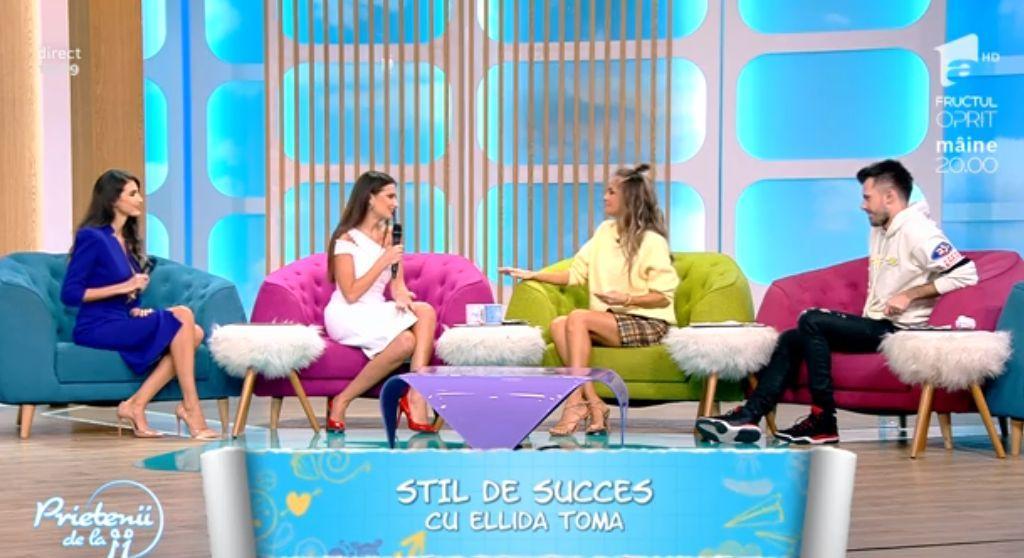 Stil de succes cu Ellida Toma. De la pupitrul Observator, Olivia Păunescu îşi croieşte singură succesul!