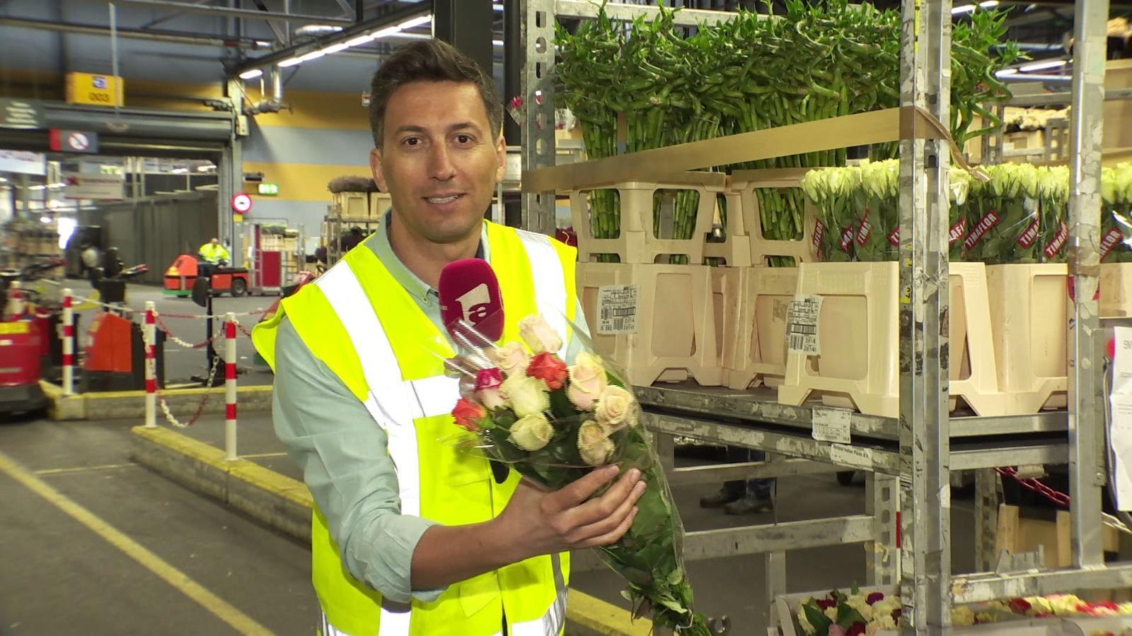 Cosmin Stan, un material special Observatordespre cea mai mare licitație de flori din lume