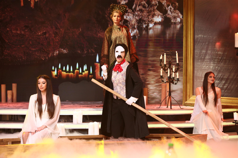 Interpretare magistrală la Scena Misterelor! Fantoma de la Operă, moment cutremurător