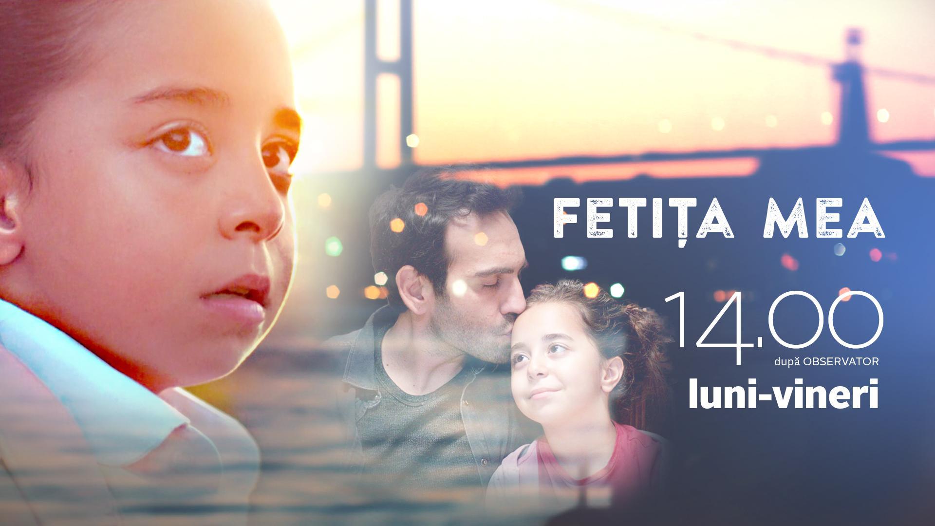 Antena 1 lansează astăzi serialul Fetiţa mea
