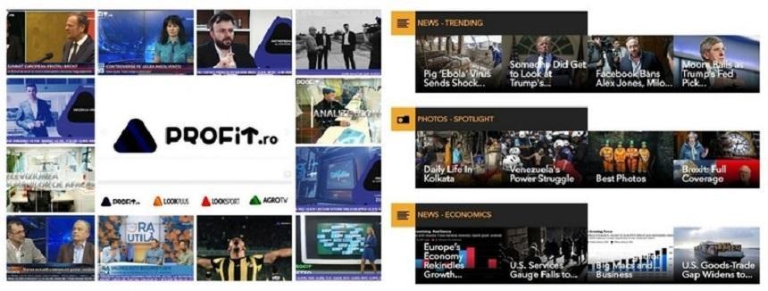 Profit.ro şi Profit TV au încheiat un parteneriat cu Bloomberg Media Distribution pentru furnizarea de informaţii financiare şi de business în România