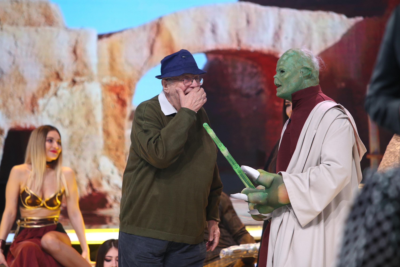 Alexandru Arșinel oferă sfaturi matrimoniale pentru maestrul Yoda din Războiul Stelelor