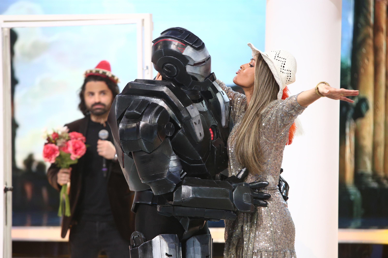 """Diana Munteanu și Iron Man, protagoniști de telenovelă. Dan Negru e în spume: """"Ce-ați făcut, mă, din emisiunea mea?"""""""