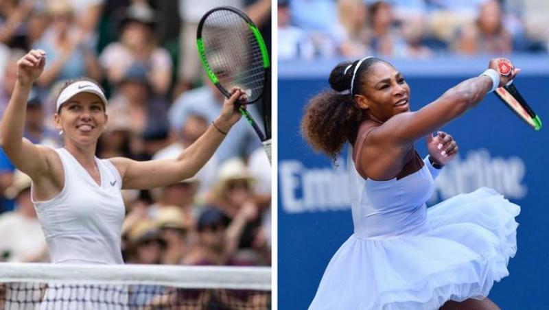 Simona Halep - Serena Williams Finala Wimbledon. Ambasada SUA la Bucureşti: Hai, România! Go, USA!