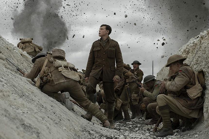 """Lungmetrajul """"1917"""", pe primul loc în box office-ul nord-american după ce a fost premiat cu două Globuri de Aur"""