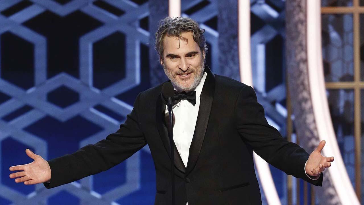 """Globurile de Aur 2020: Succesul filmul """"Joker"""" i-a adus lui Joaquin Phoenix premiul de cel mai bun actor"""