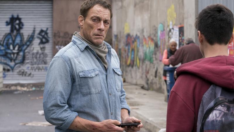 Actorul Jean Claude Van Damme, captura dintr-un film