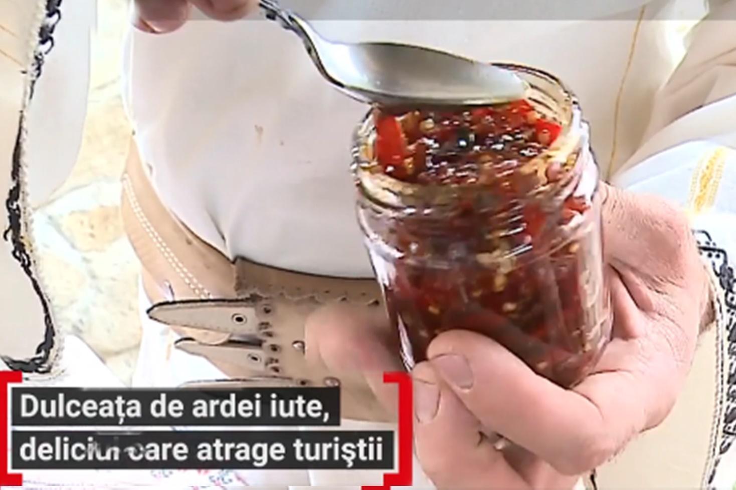Dulceață de ardei iute, rețetă deosebită din județul Mureș