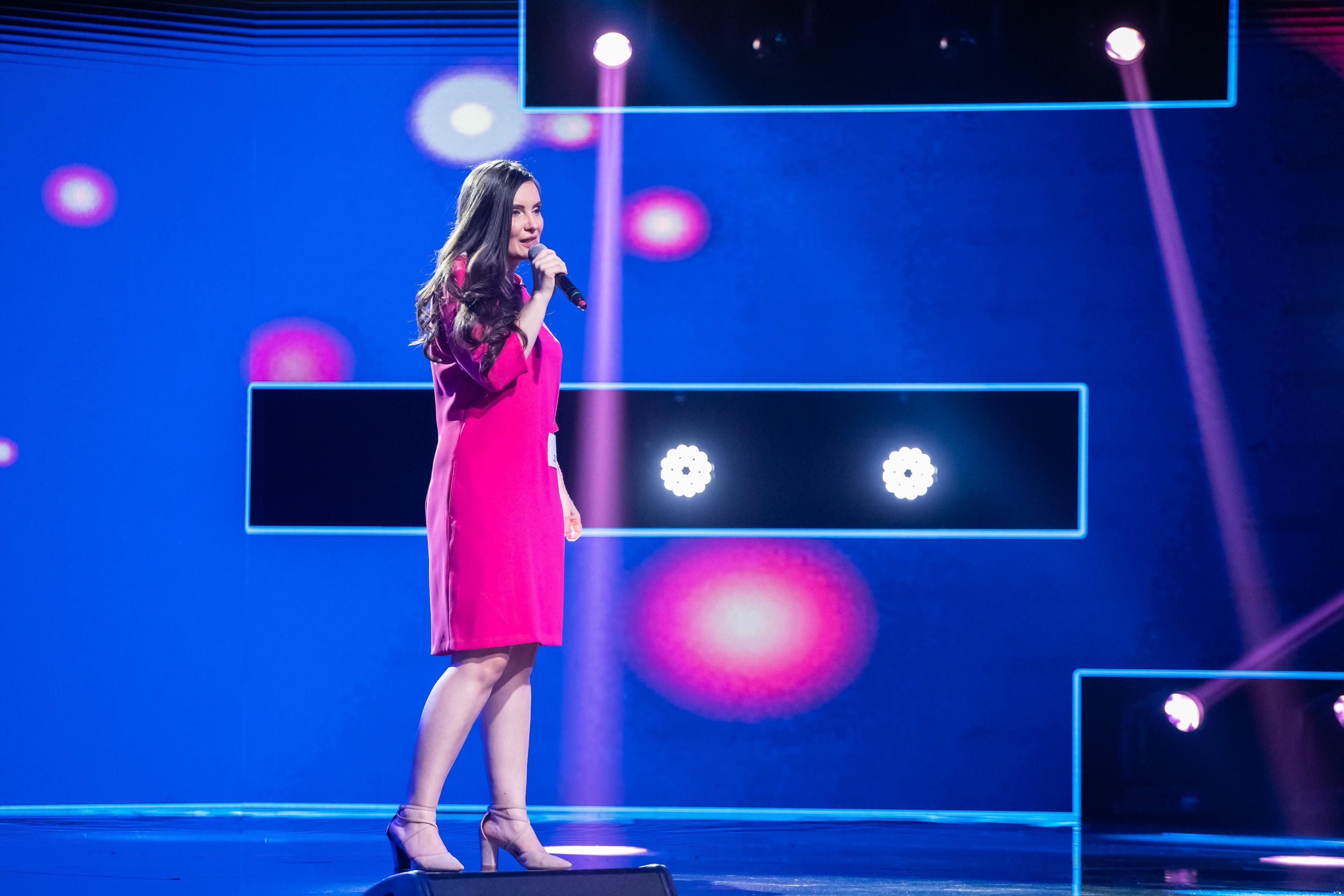 Simona Smultea, concurenta cu un optimism molipsitor. Jurații X Factor au fost fascinați de prestația ei