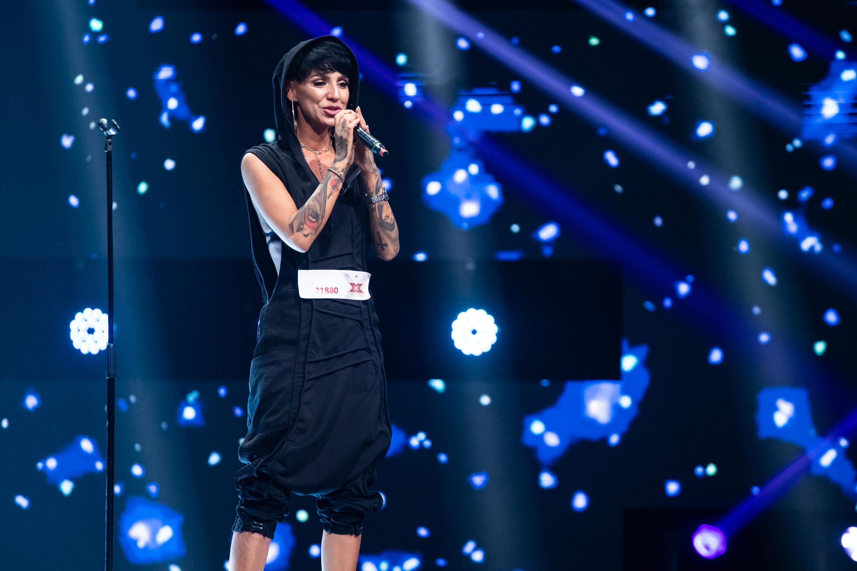 Cristina Gheorghe, o adevărată apariție pe scena X Factor. Concurenta despre care Delia a spus că are un potențial enorm