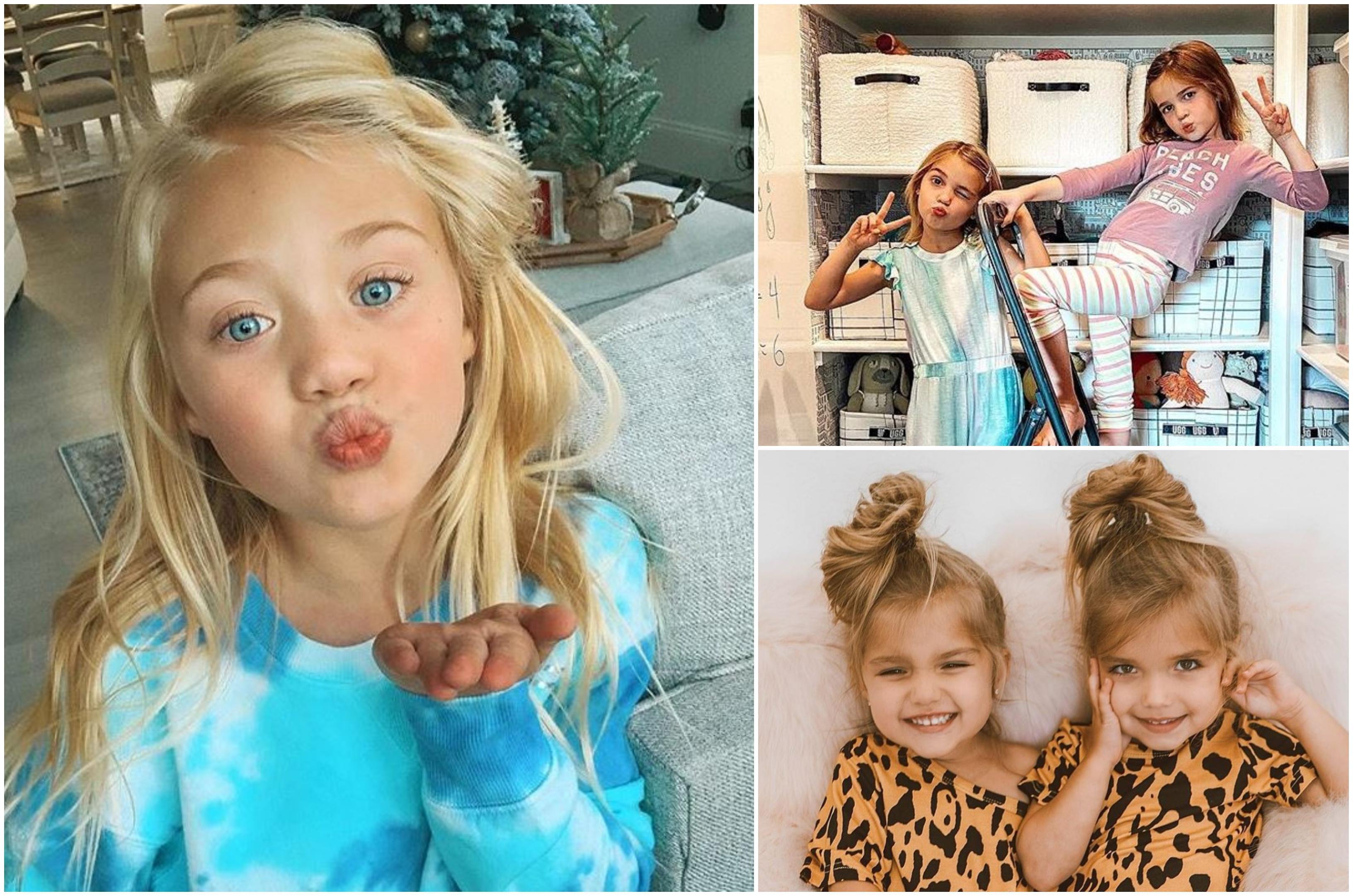 Ei sunt copiii bogați de pe Instagram. La numai 7 ani, o fetiță câștigă 70 000 de lei dintr-o singură postare