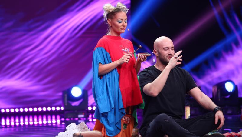 Nicoleta Mocanu a venit cu un număr special la iUmor și l-a chemat pe scena pe Mihai Bendeac