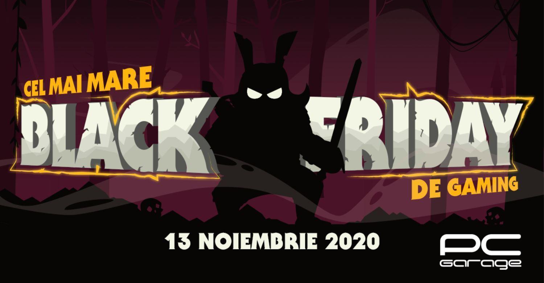 PC Garage anunţă  cel mai mare Black Friday de Gaming