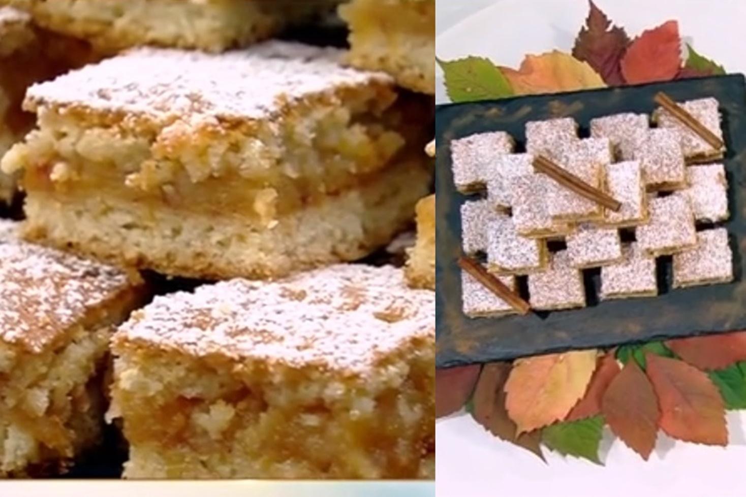 Rețetă de prăjitură cu foi fragede și fructe de toamnă