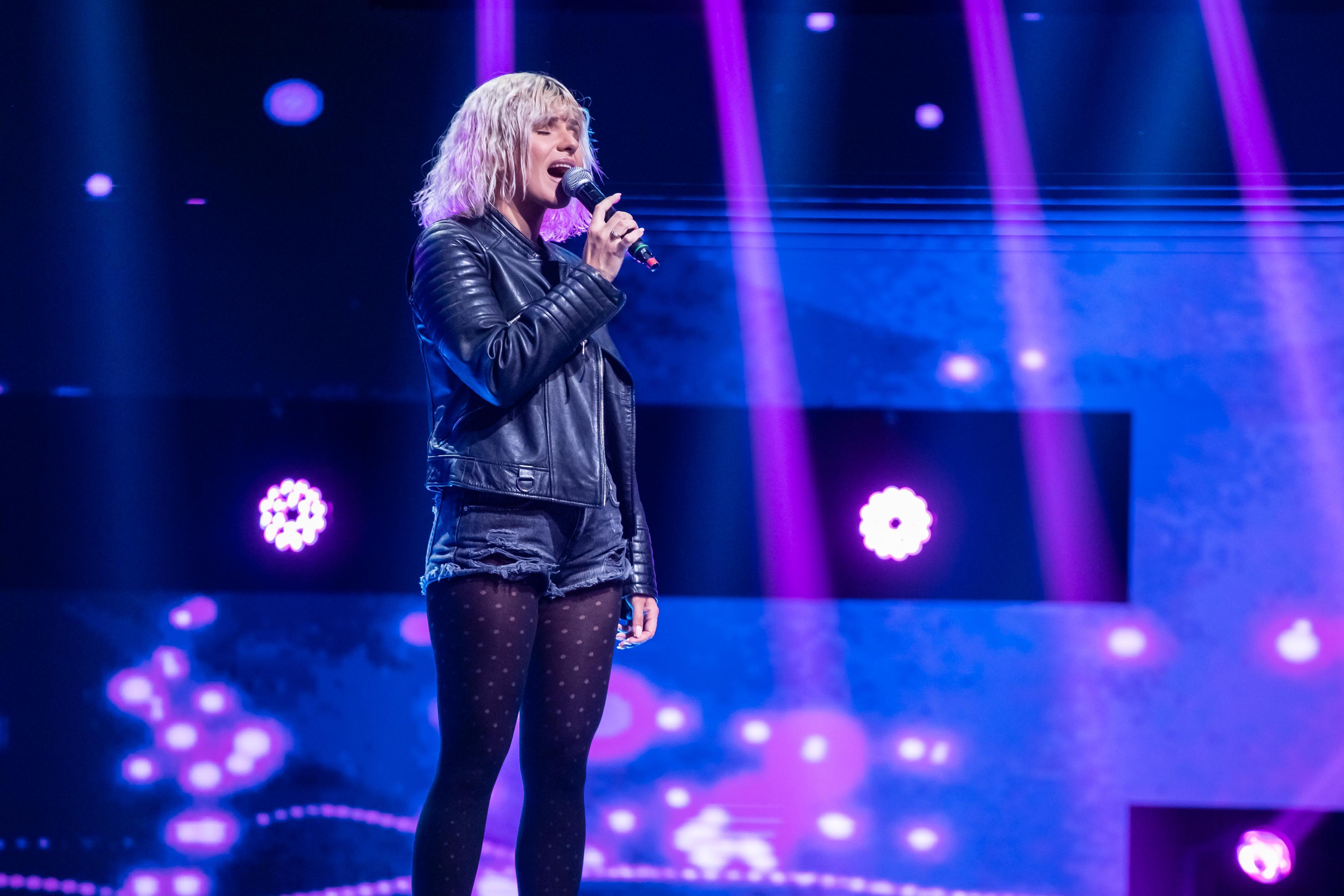 Cristina Vasiu, pe scena X Factor. Prestația care i-a adus un loc pe lista Deliei
