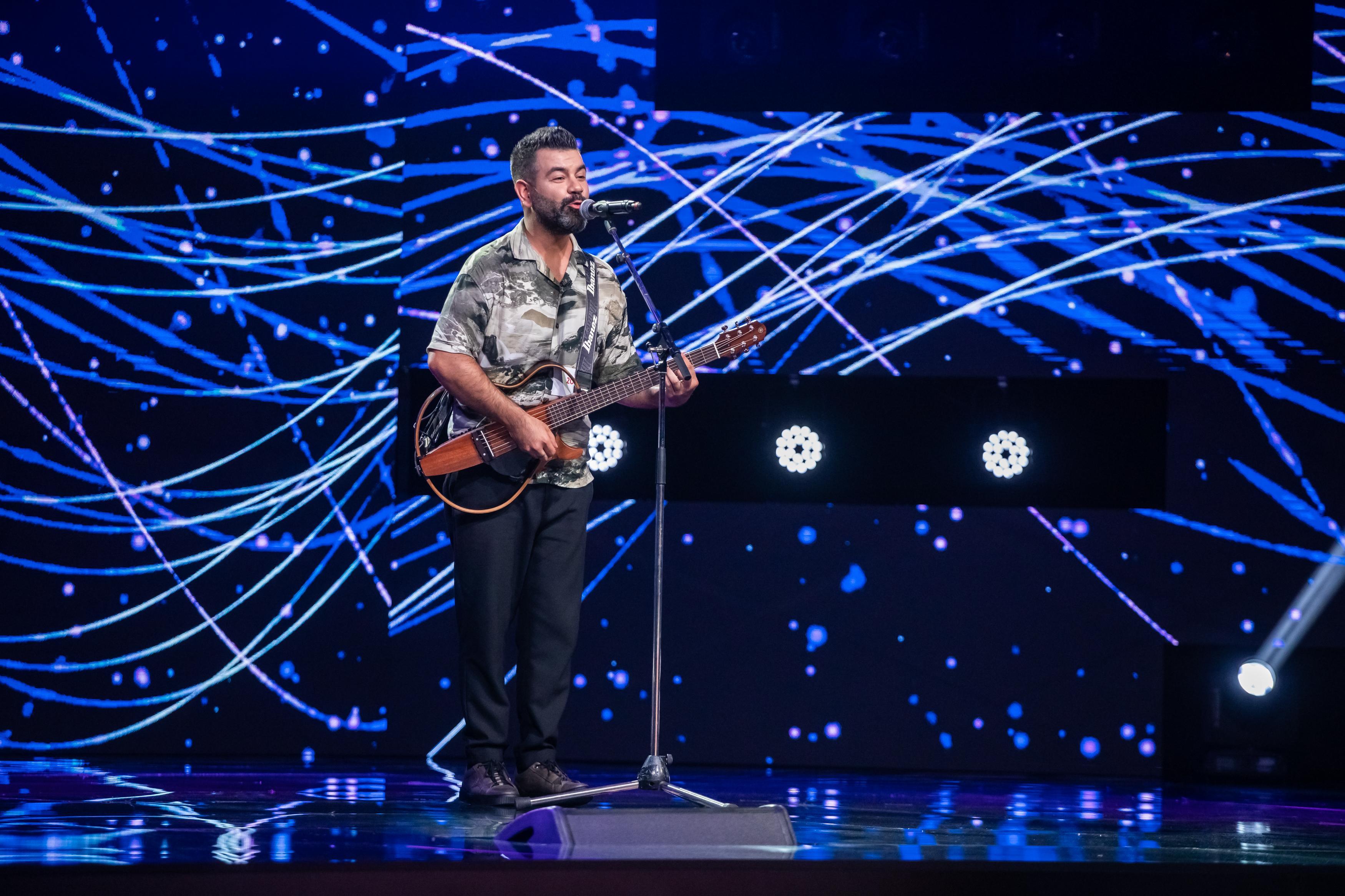 Mehmet Dural, un nume mare pe o scenă mare. Concurentul simpatic care i-a cucerit pe jurații X Factor