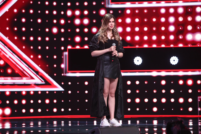 """X Factor 2020. Daria Pintilie, motiv de dispută între Bănică și Ristei: """"Pot să o iau eu într-un grup. Ai cântat blană"""""""